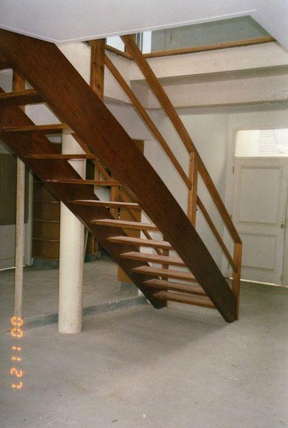 Como Hacer Una Escalera De Madera Recta Escalera De Pino