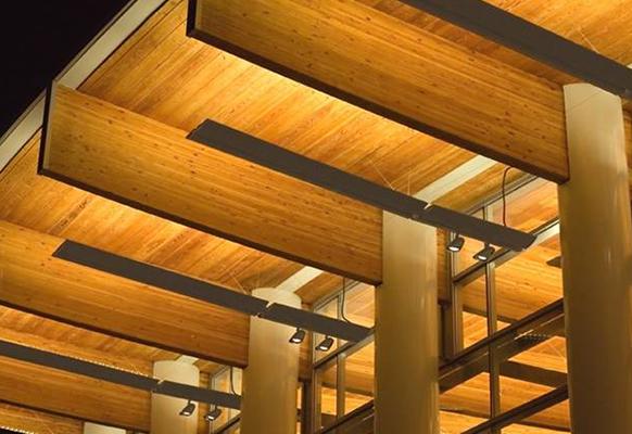 La madera laminada encolada y el medio ambiente wood for Madera laminada