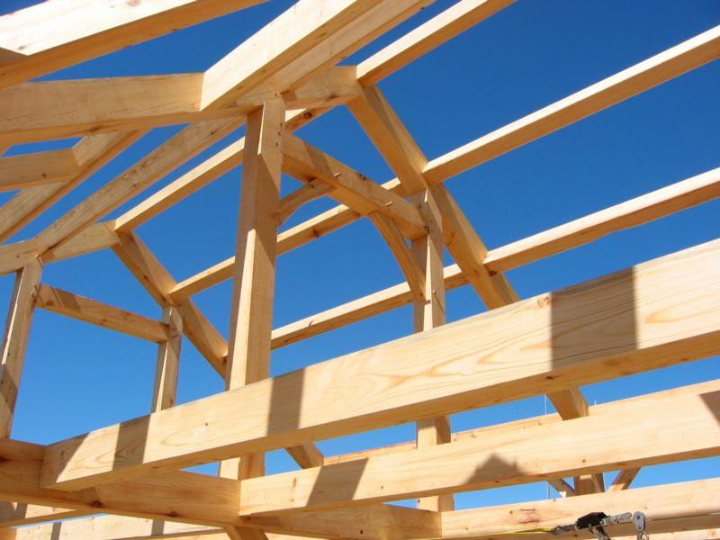 La madera laminada encolada como elemento estructural. Comparación ...